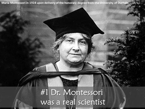 Maria montessori essays